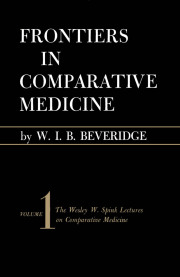 Frontiers in Comparative Medicine