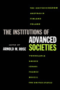 The Institutions of Advanced Societies