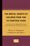 The Mental Growth of Children From Two to Fourteen Years