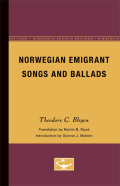 Norwegian Emigrant Songs and Ballads
