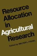 Resource Allocation in Agricultural Research