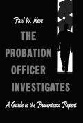 The Probation Officer Investigates