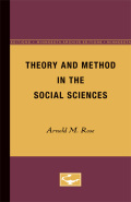 Theory and Method in the Social Sciences