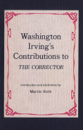 Washington Irving's Contributions to the Corrector