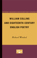 William Collins and Eighteenth-Century English Poetry