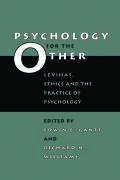 Psychology for the Other Cover