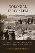 Colonial Jerusalem Cover