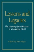 Lessons and Legacies I cover