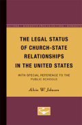 The Legal Status of Church-State Relationships in the United States