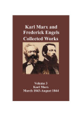 Marx & Engels Collected Works Vol 03 Cover