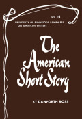 The American Short Story - American Writers 14