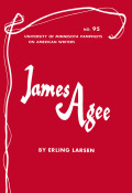 James Agee - American Writers 95