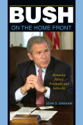 Bush on the Home Front Cover