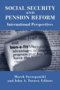 Social Security and Pension Reform Cover