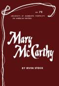 Mary McCarthy - American Writers 72
