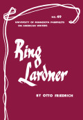Ring Lardner - American Writers 49
