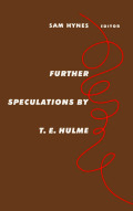 Further Speculations by T.E. Hulme
