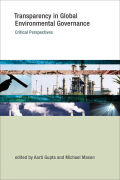 Transparency in Global Environmental Governance Cover