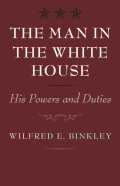 The Man in the White House cover