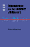 Estrangement and the Somatics of Literature Cover