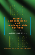 Matrix Computations and Semiseparable Matrices