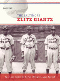 The Baltimore Elite Giants Cover