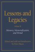 Lessons and Legacies III cover