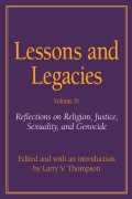 Lessons and Legacies IV Cover