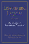 Lessons and Legacies VII Cover