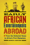 Early African Entertainments Abroad Cover