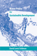 Water Policy for Sustainable Development Cover