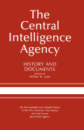The Central Intelligence Agency Cover