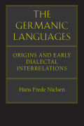 The Germanic Languages Cover