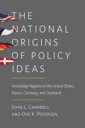 The National Origins of Policy Ideas Cover