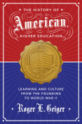The History of American Higher Education Cover