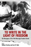 To Write in the Light of Freedom cover