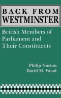 Back from Westminster Cover
