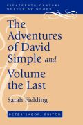 The Adventures of David Simple and Volume the Last Cover