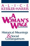 A Woman's Wage Cover