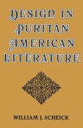Design in Puritan American Literature Cover