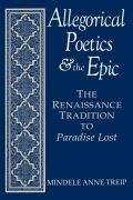 Allegorical Poetics and the Epic Cover