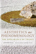 Aesthetics as Phenomenology Cover