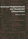 American Neighborhoods and Residential Differentiation Cover