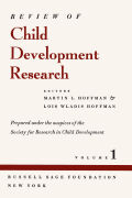 Review of Child Development Research: Volume 1
