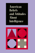 American Beliefs About Intelligence Cover