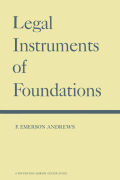 Legal Instruments of Foundations
