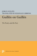 Guillen on Guillen: The Poetry and the Poet Cover