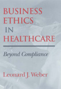 Business Ethics in Healthcare Cover