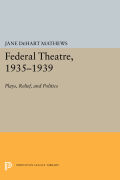 Federal Theatre, 1935-1939 Cover