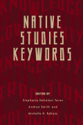 Native Studies Keywords Cover